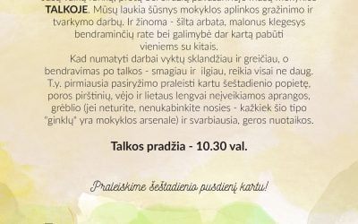 Mokyklos talka