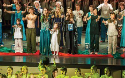 Kaip mokykloje pastatyti miuziklą?