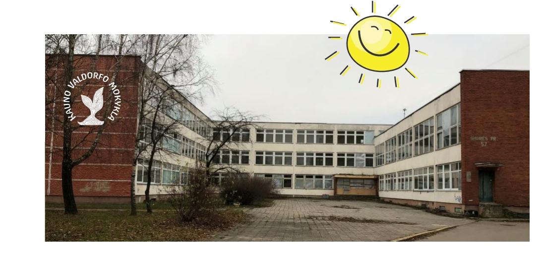 Kauno Valdorfo mokykla - parama remontui